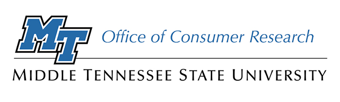 MTSU Office of Consumer Research logo