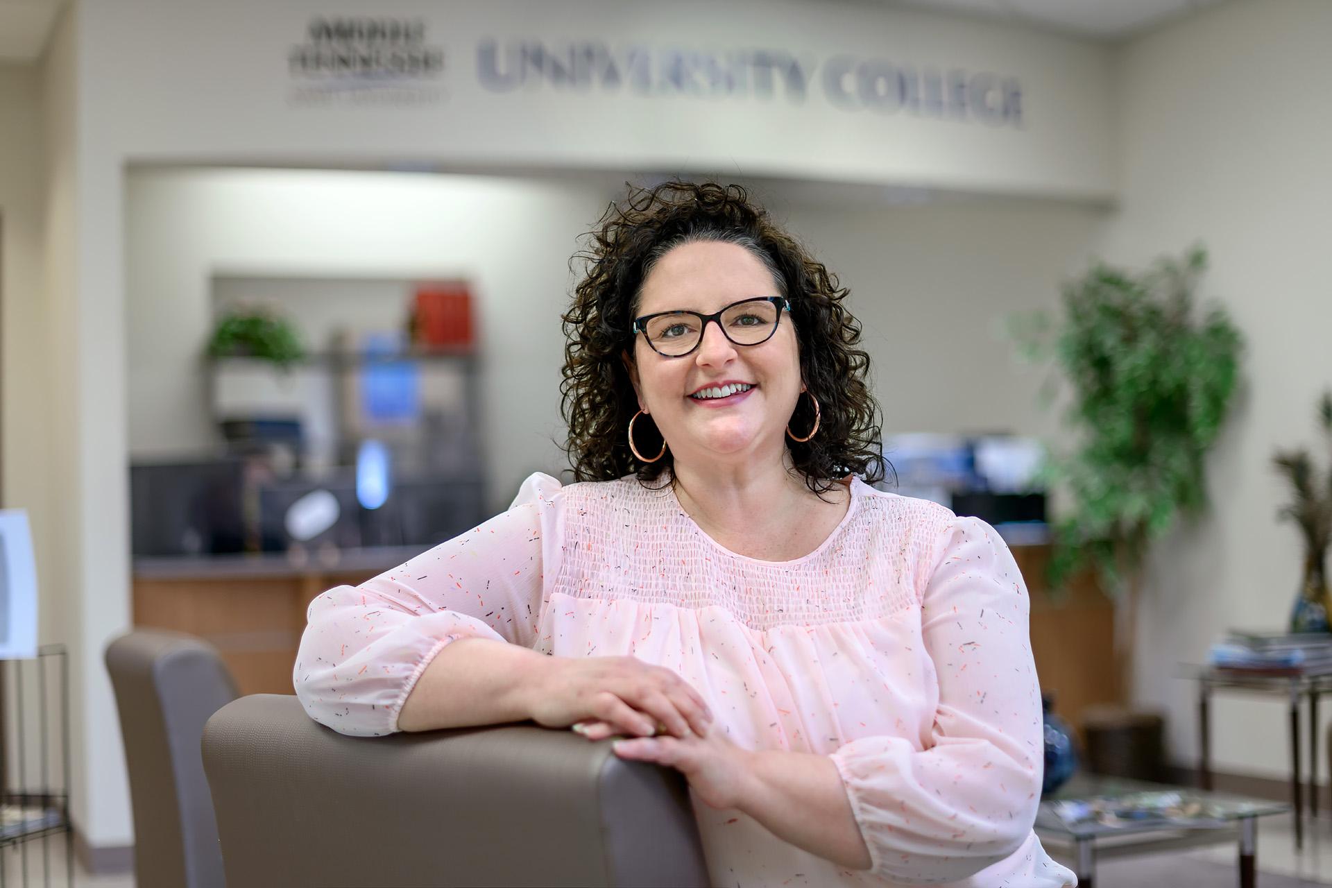 Tara Perrin, Instructional Designer, University College staff profile. (Photo: J. Intintoli)