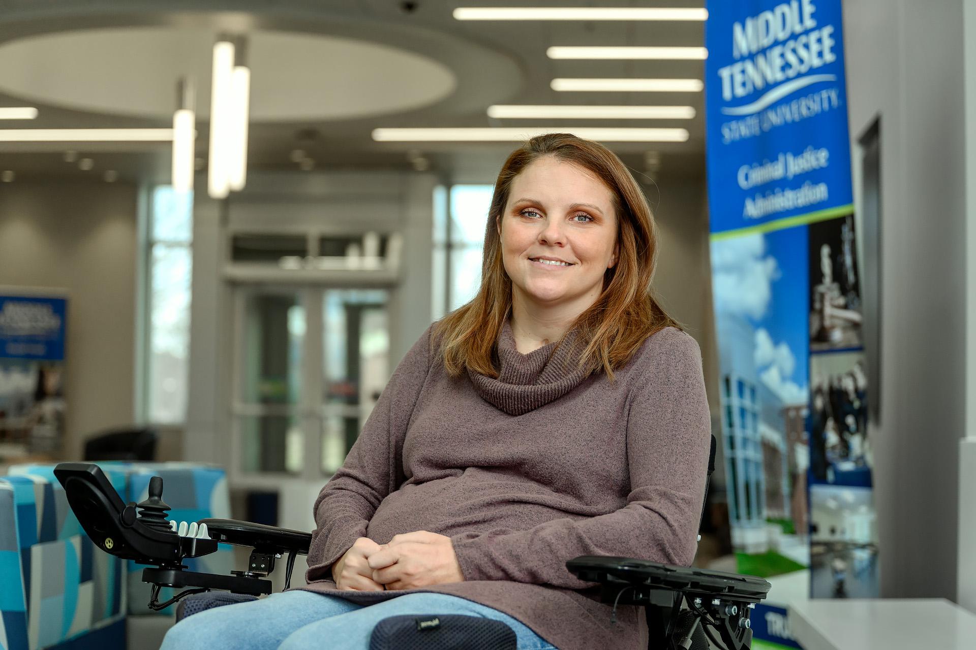 Jennifer Austin, Human Sciences Advisor staff profile portrait at the ACB.