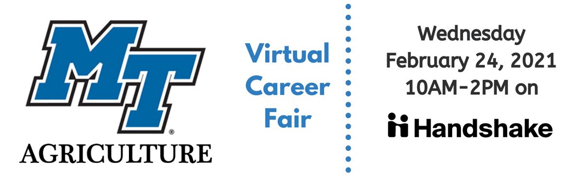 Virtual Career Fair graphic