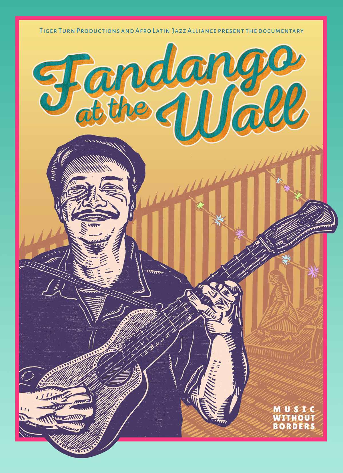 """""""Fandango at the Wall"""" documentary film poster"""