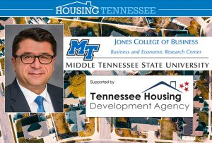MTSU's Housing Tennessee Report finds positive outcomes for economy in second quarter
