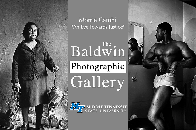 promo for new exhibit in MTSU's Baldwin Photographic Gallery,