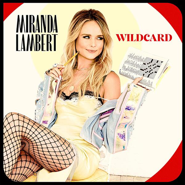 "cover of Miranda Lambert's 2019 CD ""Wildcard,"" winner of the Grammy Award for best country album for 2020, announced March 14, 2021."