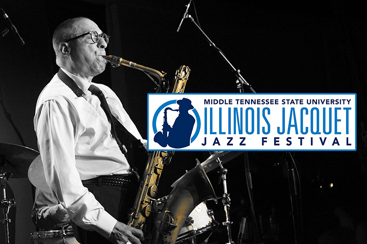 2020 Jazz Times Readers Poll saxophonist Gary Smulyan, shown in this publicity photo, is the headliner for MTSU's renowned Illinois Jacquet Jazz Festival, coming to music lovers and student musicians online on Saturday, April 10, with live performances and workshops with Smulyan and MTSU School of Music jazz faculty and students. (photo submitted)