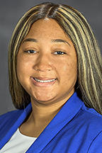 Chelseah A. Moore, 2020-21 Student Government Association President (MTSU photo by J. Intintoli)