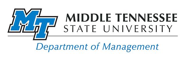 Department of Management logo