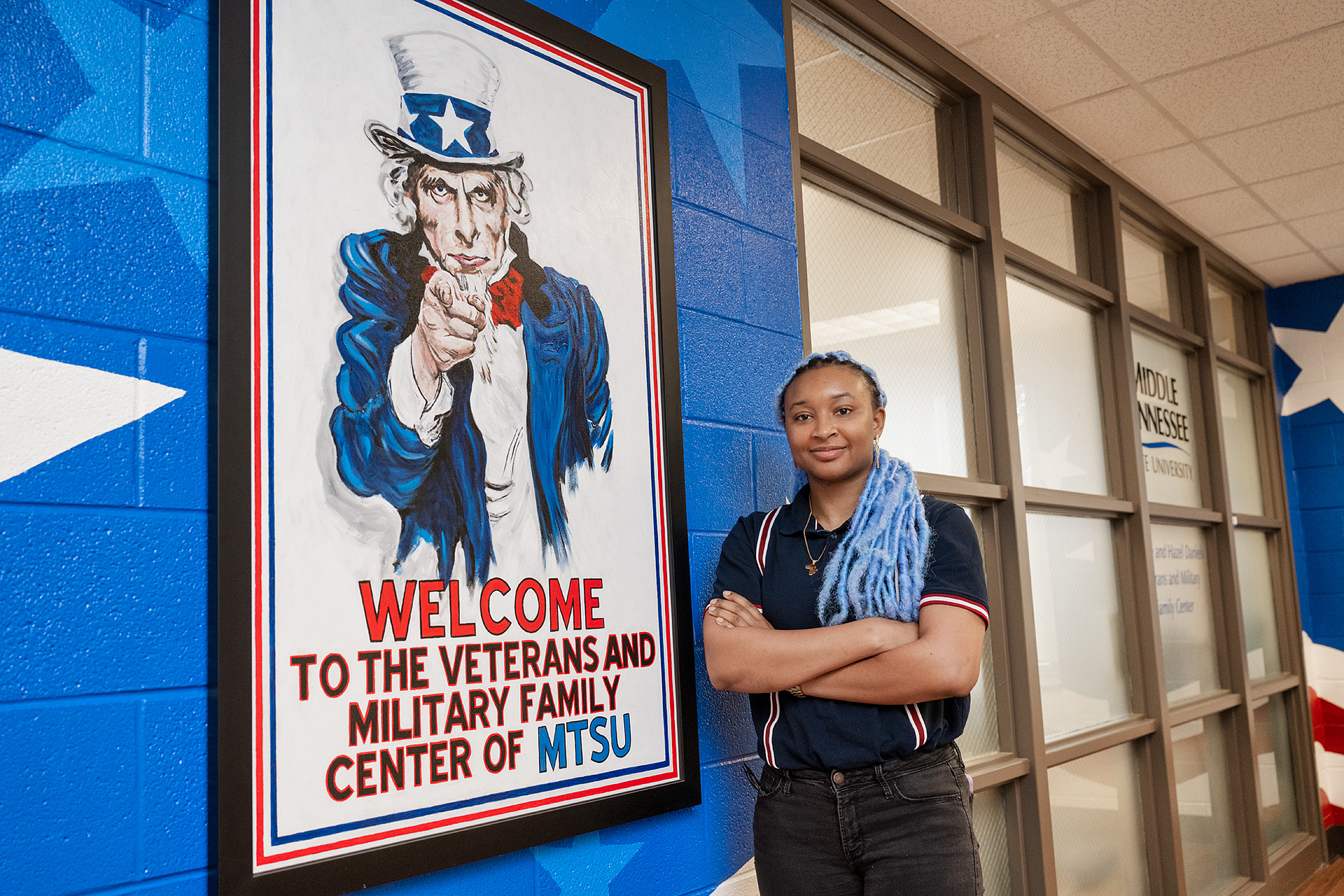Keyann Reaves is the first recipient of the General's Fund. (Photo: Andy Heidt)
