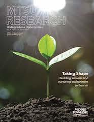 MTSU Research Magazine 2021 cover