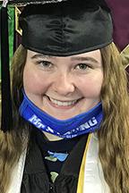 MTSU spring 2021 graduate Abigail Painter of Tullahoma, Tennessee.
