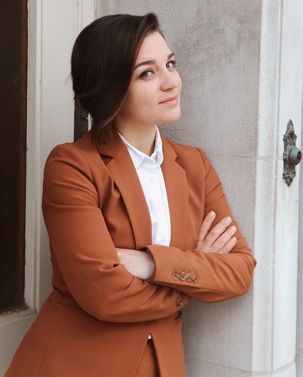 MTSU alumna Kaitlin Beck is the 2021 Ashley T. Wiltshire Public Service Attorney of the Year in Tennessee. She is an assistant public defender for the Shelby County Public Defender's Office in Memphis, Tenn. (Submitted photo by Margaret Mahaffey)