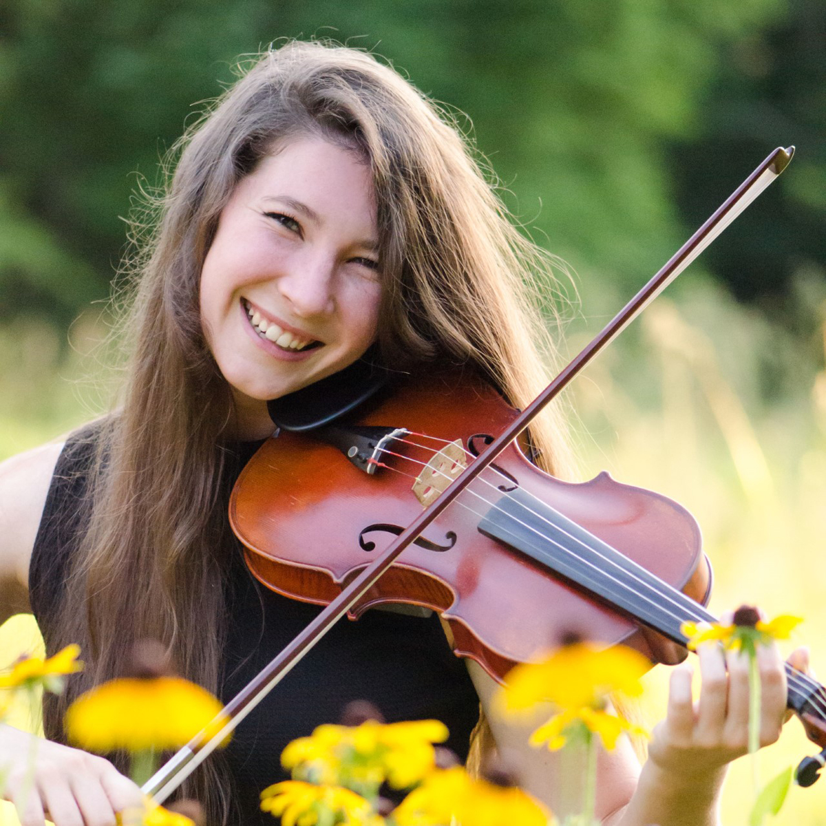 MTSU rising sophomore Sophie Buck will be one of the musicians who will be performing often at the Main Street Saturday Market in downtown Murfreesboro, starting May 22. She plays fiddle and is a graphic design major who is minoring in music. (Submitted photo)