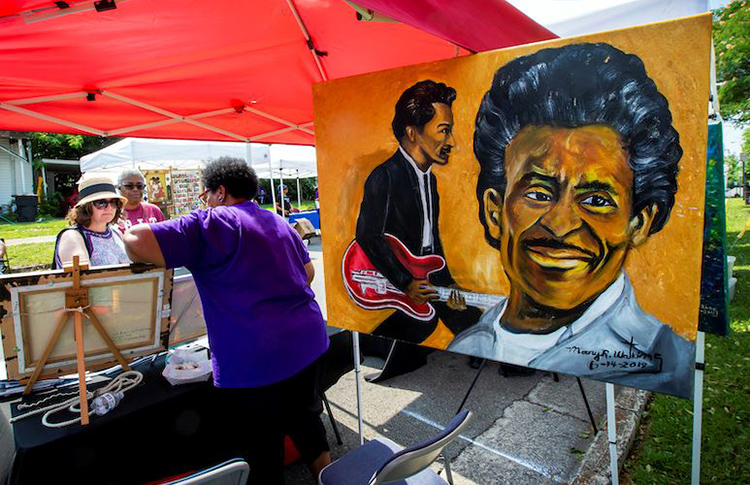 Local artists will have their work on display and for sale at the Murfreesboro Juneteenth Celebration set for Saturday, June 19, at Bradley Museum and Cultural Center on South Academy Street. (File photo courtesy of Murfreesboro Parks and Recreation)