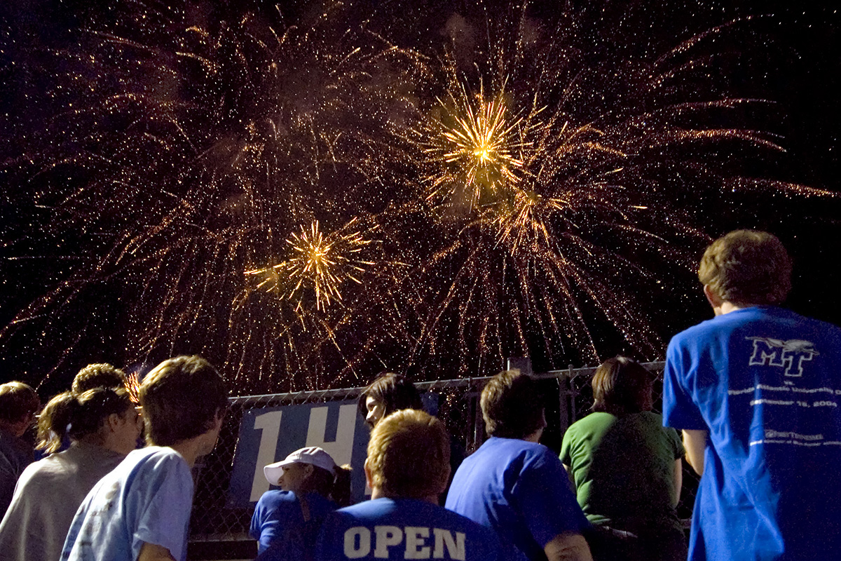 MTSU will be closed Monday, July 5, for the Independence Day holiday. Classes will resume and all offices will reopen Tuesday, July 6. (MTSU file photo by J. Intintoli)