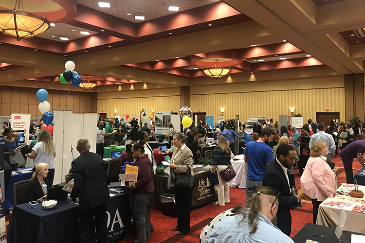 More than 100 hiring employers are trying to fill more than 5,000 job vacancies during the Rutherford County Hiring Expo set for 10 a.m. to 4 p.m., July 12, at Embassy Suites in Murfreesboro. (File photo courtesy of Rutherford Works)