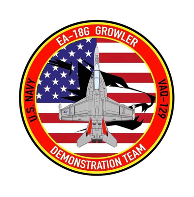 U.S. Navy Growler Legacy Team logo