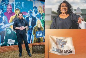 MTSU Magazine spotlights alumni donations, student research