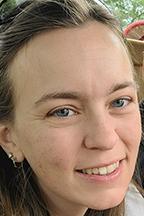 Amanda Jolley, student, June Anderson Scholarship recipient for 2021