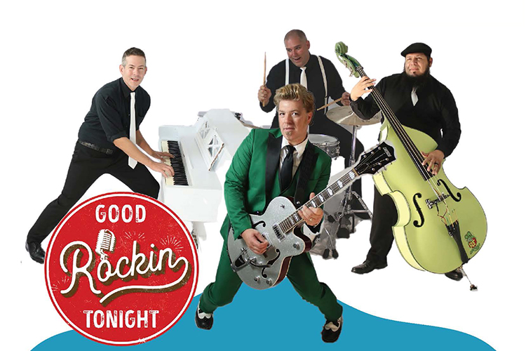 The band Good Rockin' Tonight will be featured at the final Friday Night Live this year, set for 6:30 to 9:30 p.m. Friday, Sept. 3, on the Rutherford Couty Courtsquare in downtown Murfreesboro, Tenn. MTSU is co-sponsoring the Main Street Murfreesboro event. (Submitted image)