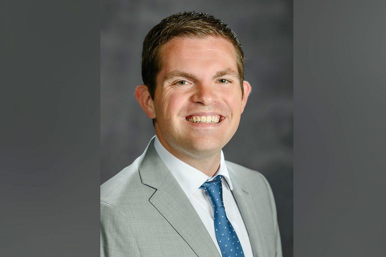 Matthew Hibdon (Photo: Andy Heidt)Matthew Hibdon, 2021-2022 Alumni Board President and College of Liberal Arts Strategic Marketing Coordinator. (Photo: Andy Heidt)
