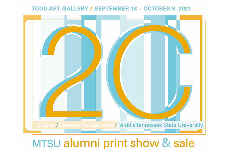 """2C/Community Collective MTSU Alumni Print Show and Sale"