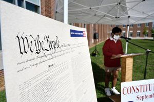 'Democracy out loud' in evidence at MTSU during Constitution Week readings