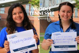 Free application incentive kicks off first of two fall True Blue Preview events at MTSU