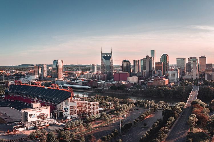 This undated photo shows the Nashville, Tenn., skyline. (Photo by Tanner Boriack on Unsplash)