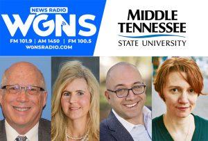 MTSU on WGNS: New engineering technology chair, CHHS opioid grant, MTSU Write