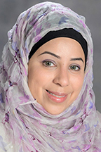 """Dr. Ibtissam """"Sam"""" Zaza, assistant professor, Department of Information Systems and Analytics, Jones College of Business"""